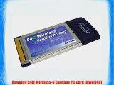 Hawking 54M Wireless-G Cardbus PC Card (HWC54G)