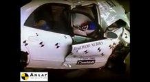 Daewoo Nubira 1998 ANCAP Crash Test (2 stars)