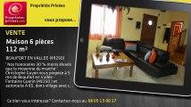 A vendre - maison - BEAUFORT EN VALLEE (49250) - 6 pièces - 112m²