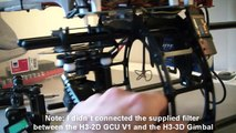 DJI H3-3D combined with H3-2D GCU V1