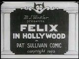 Felix the Cat - Felix in Hollywood -año (1923)-felix el gato en hollywood-blanco y negro