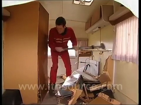 Caravan destruction Grand Prix