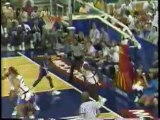 Shaquille O'Neal Dunks in McDonald's All American Game