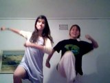 crazy high school girls dance the oompa loompa