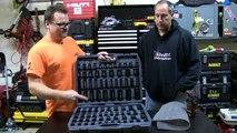 "Ingersoll Rand Sockets 1/2"" & 3/8"" Combo Standard & Deep Socket Set, 86 Piece"