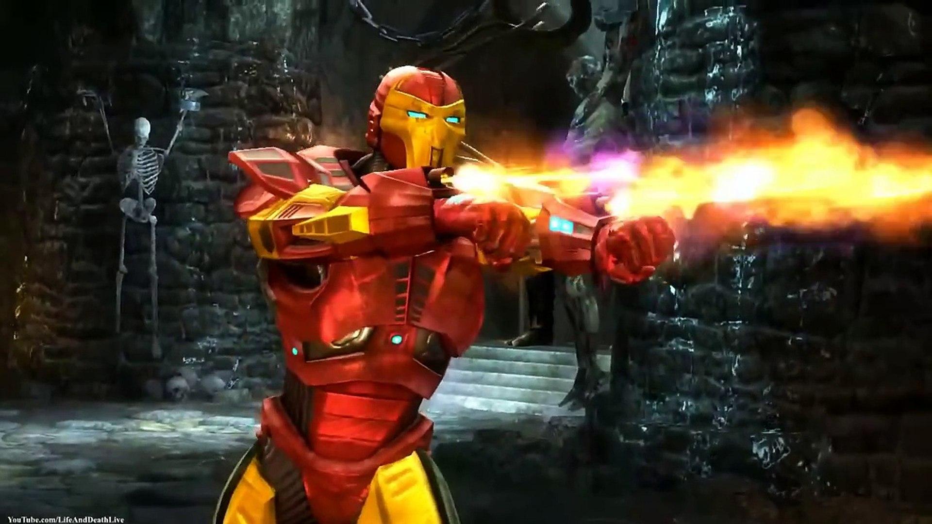 Mortal Kombat Komplete Edition - Sektor - Iron Man Costume/Skin *Mod* (HD)