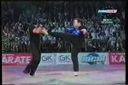 Ron Balicki and Willie Laureano Jeet Kune Do Demo in Paris France Bercy Martial Arts Festival
