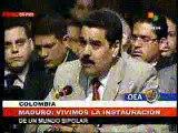 3 Jun 2008 Canciller Nicolás Maduro en Asamblea de la OEA en Medellín, Colombia