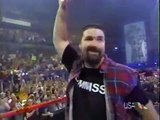 Mick Foley becomes the new WWF commissioner