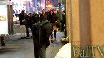 """Helping a homeless man (GETS EMOTIONAL) """"HELPING THE HOMELESS SOCIAL EXPERIMENT PRANK 2015"""""""