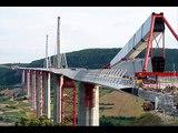 Viaduc de Millau - Erection Pylons - Sarens
