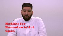 Some authentic hadiths and significance of these hadiths regarding Ramadan- sheik Omar Suleiman