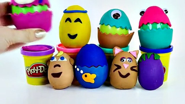 Egg Surprises Play Doh Toys WWE Mashems Mickey Mouse Clubhouse Kinder Surprise Eggs McDonalds Toy
