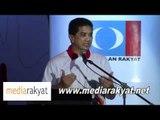 Azmin Ali: Lawan Mereka Hapis-hapisan UMNO & Perkasa Yang Merosakan Masa Depan Negara Kita