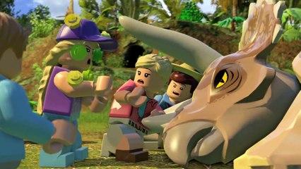 Bande annonce de lancement de LEGO Jurassic World