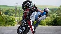 Kawasaki 636 ZXR Street Bike  Stunt Riding Motorcycle