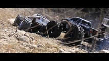Monster Truck RC Suicide: T-Maxx and Revo
