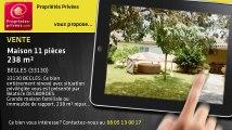 A vendre - maison - BEGLES (33130) - 11 pièces - 238m²