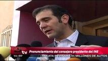 Lorenzo Córdova interpone demanda ante la PGR por espionaje telefónico / Titulares de la tarde