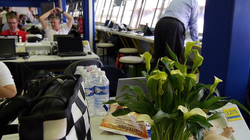24 Heures du Mans 2015 - C'est l'effervescence dans le Centre Média !