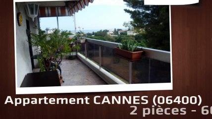 CANNES - Appartement  2 Pièce(s) 61 m²  à vendre Cannes Petit Juas