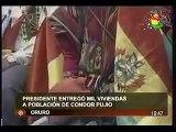 Presidente Evo Morales entregó mil viviendas en oruro - Dic. 2009