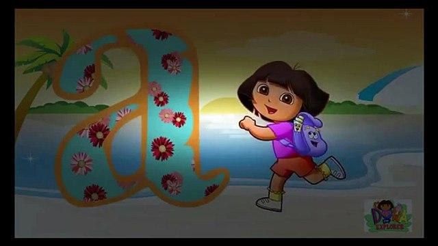 ABC Song Dora for Children Dora the Explorer Nursery Rhymes