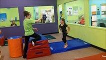 Front Handspring Vaults - Best Children's Grade School Gymnastics Fenton MO