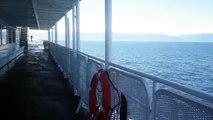 MV COHO Ferry Sailing to Port Angeles, WA; June 10, 2013