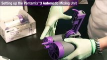 Pentamix™ 3 Automatic Mixing Unit - How to Set Up