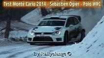 Test Snow/neige Monté Carlo 2014 - Sébastien Ogier - Polo WRC