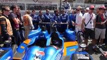 24 Heures du Mans - Mise en grille des voitures !