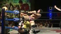 AKIRA, Manabu Soya & Andy Wu vs. Great Muta, Great Kabuki & TAJIRI (Wrestle-1)