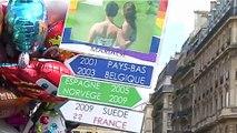 GAY PRIDE PARIS 2009 la Marche des Fiertés
