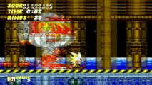 Sonic the Hedgehog 2 Playthrough - Super Sonic - FINALE (Death Egg Zone)