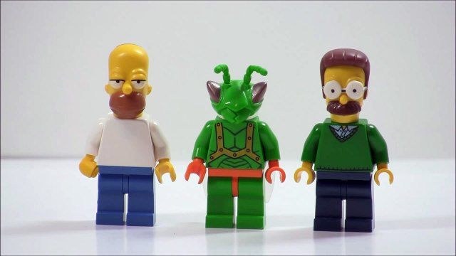 LEGO Simpsons 2014: My Homer and Ned minifigures + My Thoughts!