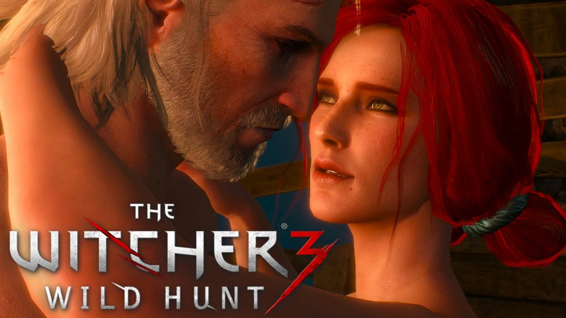 The Witcher 3: TRISS LOVE SCENE - Now or Never Side Quest