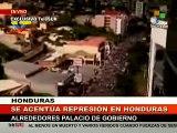 Recrudece represión en Tegucigalpa aumenta el número de manifestantes heridos 3/4