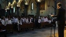 2015 Confirmation Enseignement Catholique chant des jeunes confirmés