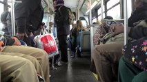 NICE Bus (Veolia): Orion V CNG #1602 n25 to New Hyde Park [Ride-Along]