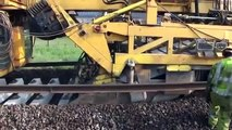 Have you ever wondered how railways are making railway line ! Interesting Engineering