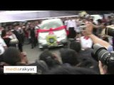 Beng Hock's Funeral: The Funeral Procession