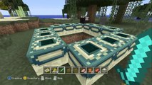 "Minecraft (Xbox 360) - ""The End"" How To Make/Find Ender Portal TU11 -Ender Dragon End Portal"