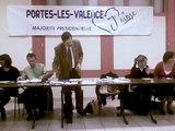Elections municipales Portes les valence