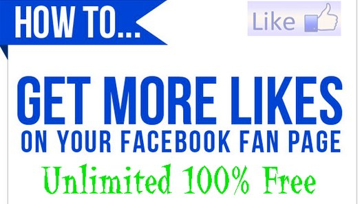 How to Get Real Facebook Page Likes 100% Free
