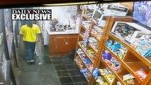 Exclusive: Machete-Wielding Convenience Store Clerk Fights Off Gunman