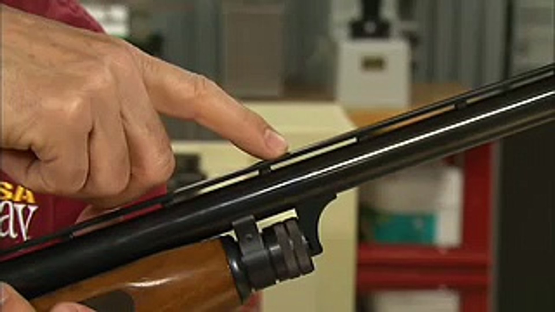 Gunsmithing - How to Install a Middle Bead Sight on a Shotgun Rib