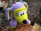 Kiki le chien mauve en Lorraine