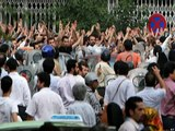 Iranians Raised Against Islamic Regime in Iran , We Shall be Free