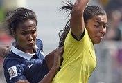 France-Colombie : 0-2, la réaction de la capitaine Wendie Renard